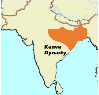 कण्व राजवंश या कण्वयण ने 75 ईसा पूर्व से 30 ईसा पूर्व तक शासन किया। इसने पूर्वी और मध्य भारत के कुछ हिस्सों में शुंग वंश को उखाड़ फेंका।