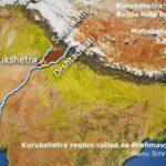 हिन्दू धार्मिक ग्रन्थ मनुस्मृति में ब्रह्मवर्त को भारत में सरस्वती और द्रिषद्वती नदियों के बीच का क्षेत्र बताया गया है।