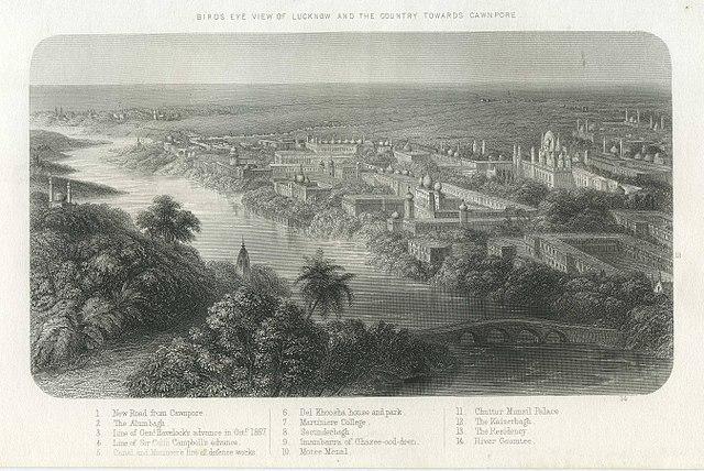 लखनऊ का इतिहास सूर्यवंशी राजवंश के प्राचीन काल से लेकर मुस्लिम साम्राज्यों और अंग्रेजों के शासन है। यह गोमती नदी के पास स्थित है।